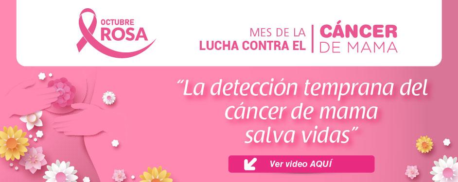 Mes de la Lucha contra el cancer de Mama!